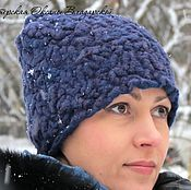 Аксессуары handmade. Livemaster - original item Women`s winter hat