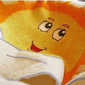 """Для дома и интерьера ручной работы. Ярмарка Мастеров - ручная работа Шерстяное одеяло """"Доброе утро!"""". Handmade."""