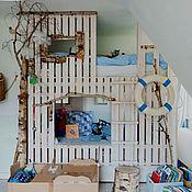 Для дома и интерьера ручной работы. Ярмарка Мастеров - ручная работа Кроватка в морском стиле. Handmade.