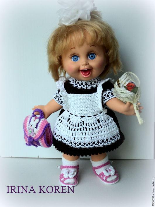 Обучающие материалы ручной работы. Ярмарка Мастеров - ручная работа. Купить МК по вязанию школьной формы для куклы Galoob - Baby Face.. Handmade.