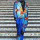 Костюм MODENARO: Мужская квантовая коллекция(Синий). Костюмы. MODENARO. Ярмарка Мастеров.  Фото №4