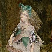 """Куклы и игрушки ручной работы. Ярмарка Мастеров - ручная работа авторская кукла """" Николь"""". Handmade."""