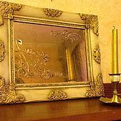 Для дома и интерьера ручной работы. Ярмарка Мастеров - ручная работа Орнаментальное зеркало Узор. Handmade.