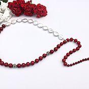 Necklace handmade. Livemaster - original item Necklace-tie