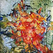 Картины и панно ручной работы. Ярмарка Мастеров - ручная работа Картина Пылающий аккорд. Handmade.