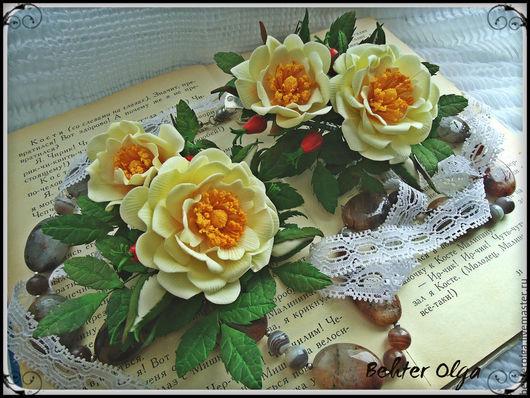 Комплекты украшений ручной работы. Ярмарка Мастеров - ручная работа. Купить Набор Дикая роза с плодами. Handmade. Шиповник