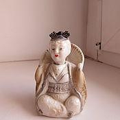 Винтаж ручной работы. Ярмарка Мастеров - ручная работа Китайский болванчик кукла болтушка 40-50-е г.г. Handmade.