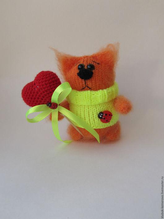 Игрушки животные, ручной работы. Ярмарка Мастеров - ручная работа. Купить Котик. Handmade. Рыжий, котенок, котики, котэ, игрушка