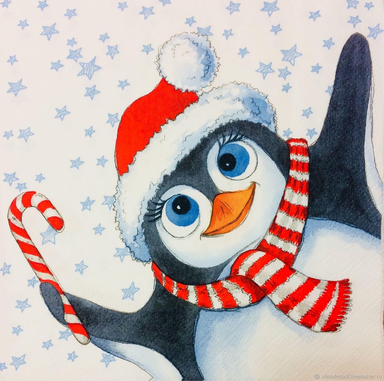 читаешь картинка пингвин новогодняя острота полной