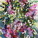 Blooming lilac - Original oil painting, Pictures, Simferopol,  Фото №1