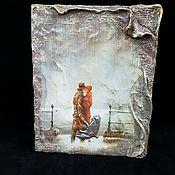 Для дома и интерьера handmade. Livemaster - original item Box-Tome,the City of rain,,the box-book. Handmade.