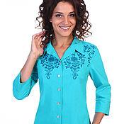 """Одежда ручной работы. Ярмарка Мастеров - ручная работа Блуза """"Zoye"""". Handmade."""
