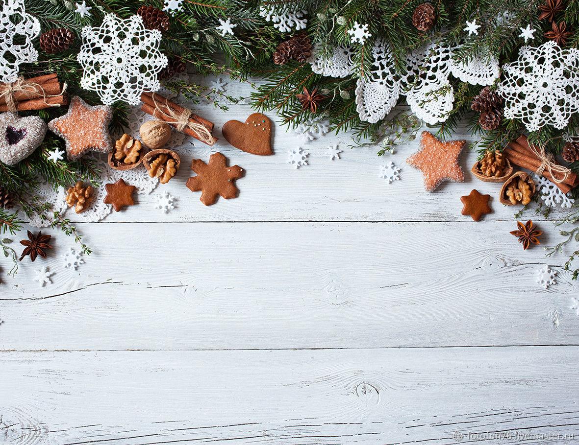 Фотофон Новогодние сладости 40х55 см, Фото, Ярославль, Фото №1