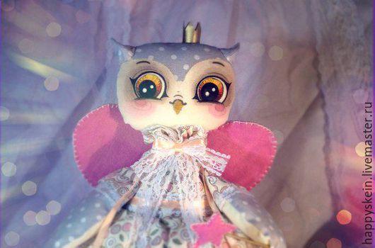 Коллекционные куклы ручной работы. Ярмарка Мастеров - ручная работа. Купить Фея Совушка (по мотивам рисунков Инги Пальцер). Handmade.