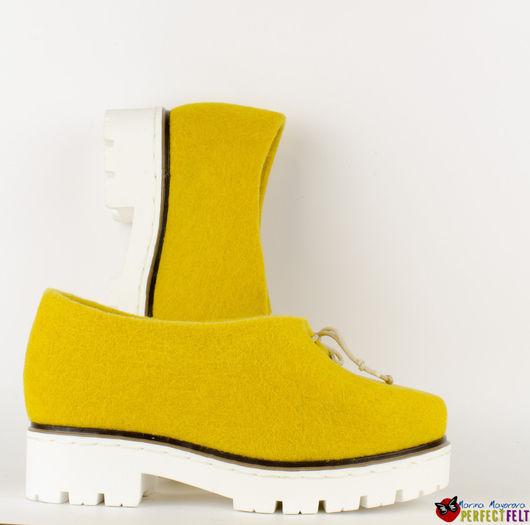 Туфли `Yellow tulip`