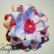 """Работы для детей, ручной работы. Ярмарка Мастеров - ручная работа Бантики для волос """"Розовая нежность"""". Handmade."""