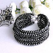Украшения handmade. Livemaster - original item Bracelet made from natural hematite