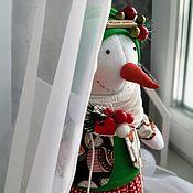 Декор в стиле Тильда ручной работы. Ярмарка Мастеров - ручная работа Декор в стиле Тильда: Снеговик. Handmade.