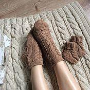 Аксессуары ручной работы. Ярмарка Мастеров - ручная работа Комплект носков Mammy&baby. Handmade.