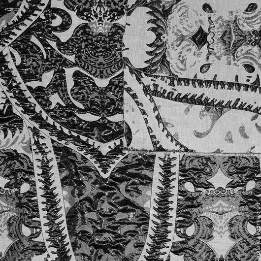 Шитье ручной работы. Ярмарка Мастеров - ручная работа. Купить Плательно-костюмная ткань-фукра ETRO ЭТНИЧЕСКИЙ ОРНАМЕНТ. Handmade.