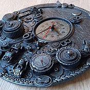 Для дома и интерьера ручной работы. Ярмарка Мастеров - ручная работа часы стимпанк (steampunk) - Тройка. Handmade.