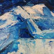 Картины и панно ручной работы. Ярмарка Мастеров - ручная работа BLUE НЮ. Handmade.