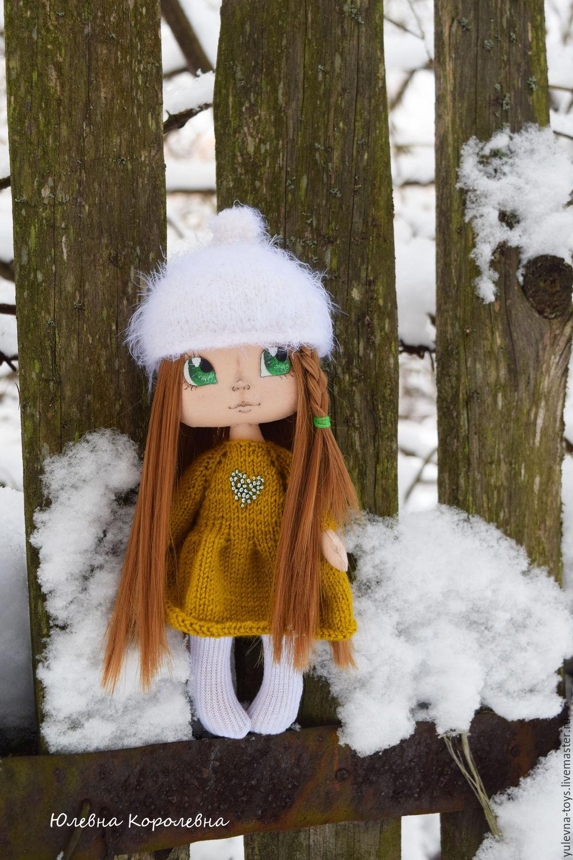Текстильная кукла Сафина. Авторская, интерьерная, портрертная, Куклы, Москва, Фото №1