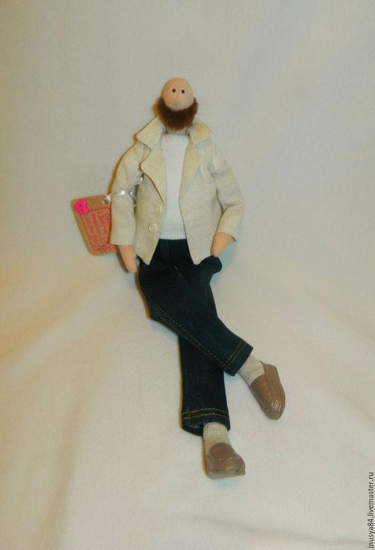 Куклы Тильды ручной работы. Ярмарка Мастеров - ручная работа. Купить Стильный мужчина ) кукла в стиле Тильда. Handmade.