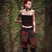 Одежда ручной работы. Ярмарка Мастеров - ручная работа Этнические брюки с вышивкой. Handmade.