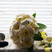 Свадебный салон ручной работы. Ярмарка Мастеров - ручная работа букет невесты и сопутствующие аксессуары.. Handmade.
