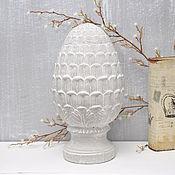 Для дома и интерьера handmade. Livemaster - original item Artichoke figurine Provence of concrete, decor, pinecone vintage, shabby. Handmade.