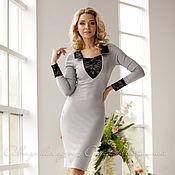 """Одежда ручной работы. Ярмарка Мастеров - ручная работа Платье """"Gray"""". Handmade."""