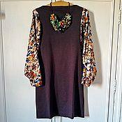 Одежда ручной работы. Ярмарка Мастеров - ручная работа Платье Madame Fleuriste. Handmade.