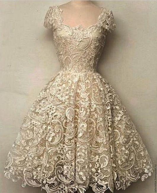 Платья ручной работы. Ярмарка Мастеров - ручная работа. Купить Платье из кружева. Handmade. Купить платья, платье купить, мода