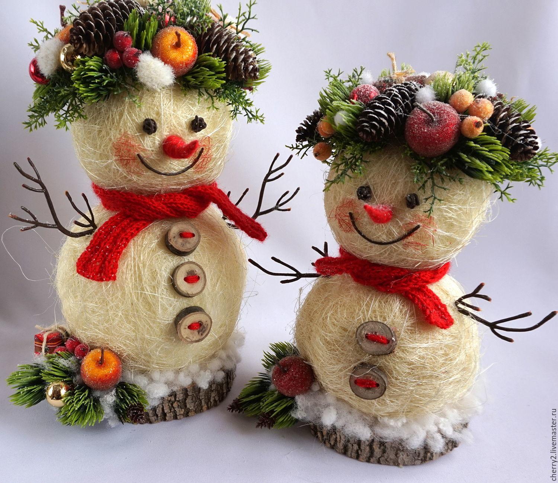 Снеговик из меха своими руками фото 400