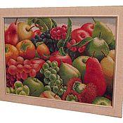 Картины и панно ручной работы. Ярмарка Мастеров - ручная работа Экзотические фрукты. Handmade.