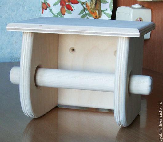 """Ванная комната ручной работы. Ярмарка Мастеров - ручная работа. Купить Заготовка, держатель для туалетной бумаги ДТБ """"Грибок"""". Handmade."""