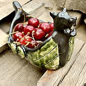Посуда handmade. Livemaster - original item Drakkar of Vikings. The bottom. Dish. Bowl. Bowl. Handmade.