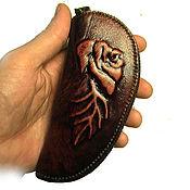 Ключницы ручной работы. Ярмарка Мастеров - ручная работа Сумочка для ключей. Handmade.