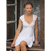 Одежда ручной работы. Ярмарка Мастеров - ручная работа Платье, ручная вышивка,скидка. Handmade.