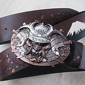 Аксессуары handmade. Livemaster - original item RONIN strap leather. Handmade.