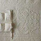 """Для дома и интерьера ручной работы. Ярмарка Мастеров - ручная работа """"Трапунто Медальонс"""". Handmade."""