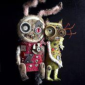 Куклы и игрушки ручной работы. Ярмарка Мастеров - ручная работа ШПУНТОВИНТИК. Handmade.