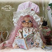 Куклы и игрушки ручной работы. Ярмарка Мастеров - ручная работа Розалинка - кулинарочка. Коллекционная текстильная авторская кукла.. Handmade.