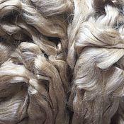 Материалы для творчества handmade. Livemaster - original item Silk tassar. Wild silk 10 gr - 140 RUB. Handmade.