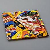 """Для дома и интерьера ручной работы. Ярмарка Мастеров - ручная работа Пепельница  """" Абстрактности """". Handmade."""