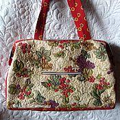 "Сумки и аксессуары handmade. Livemaster - original item Textile, quilted handbag Favorite Series ""Toscana"". Handmade."