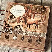 Канцелярские товары ручной работы. Ярмарка Мастеров - ручная работа Фотоальбом для охотника и рыболова (подарок, мужчине). Handmade.