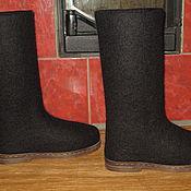 """Обувь ручной работы. Ярмарка Мастеров - ручная работа Валяные сапоги """"Адель"""". Handmade."""