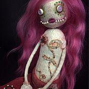 Куклы и игрушки ручной работы. Ярмарка Мастеров - ручная работа Ари - девочка-рыбка. Handmade.